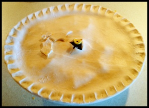 Christmas Pie, pre-baking