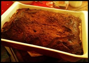 Chocolate Pandoro Pudding