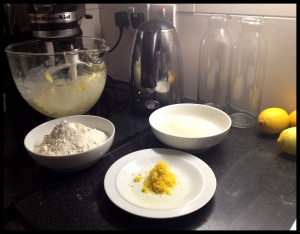 Lemon Drizzle Cake - kit form