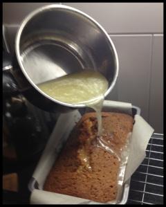 Lemon Drizzle Cake - drizzle drizzle