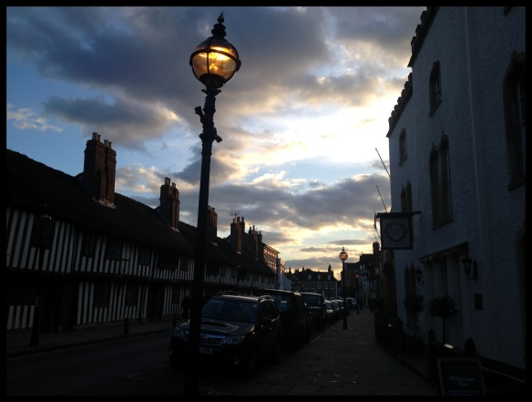 Stratford Old Town at dusk