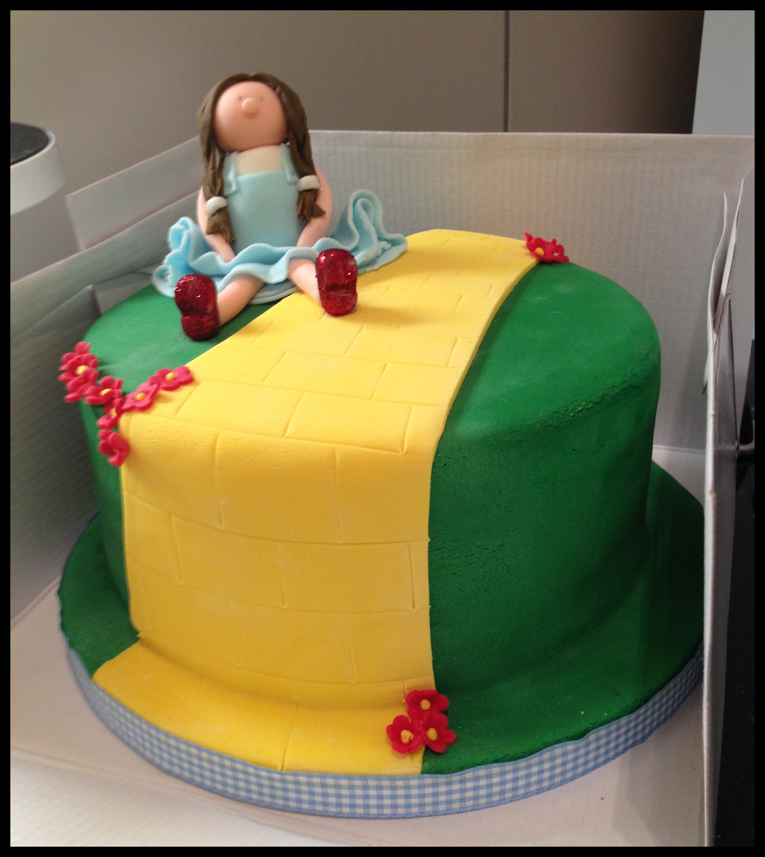 Wizard Of Oz Cake Including Rainbow Cake V Words Pictures Cake