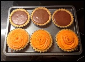 Apricot Tarlets - three down...