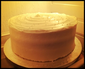 Carrot Cake - jus' chillin'