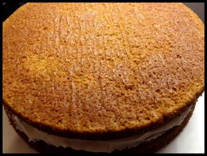 Carrot Cake - look at that lovely texture