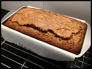 Banana & Chocolate Bread - baked