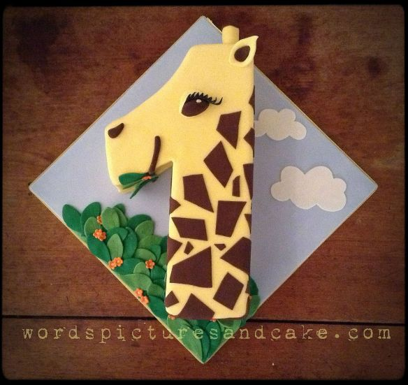 Geraldine, the Number 1 Giraffe Cake.  Literally.