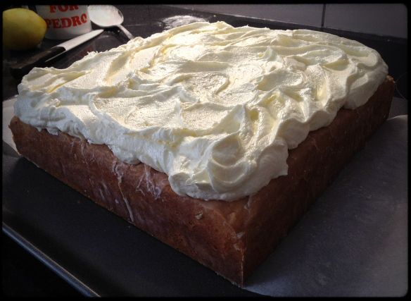 MANLY cake