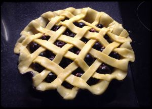 Cherry pie - lattice complete