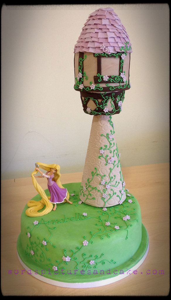 Rapunzel Cake For Bella S 4th Birthday Words Pictures