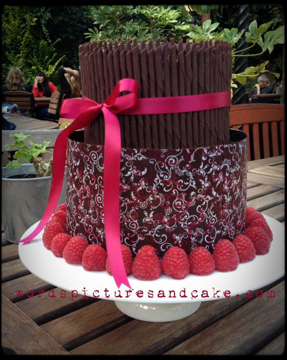 Chocolate & Raspberry Cake