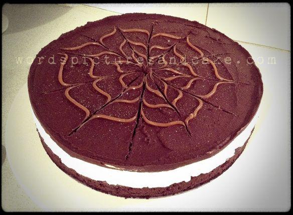 Layered Chocolate Hazelnut Gateau