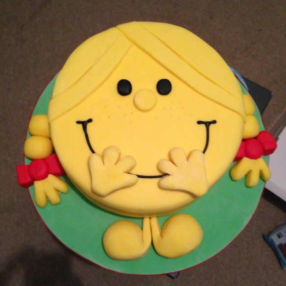 Little Miss Sunshine Rainbow Cake